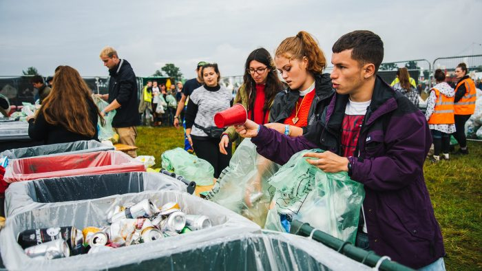 Getting to grips with festival waste