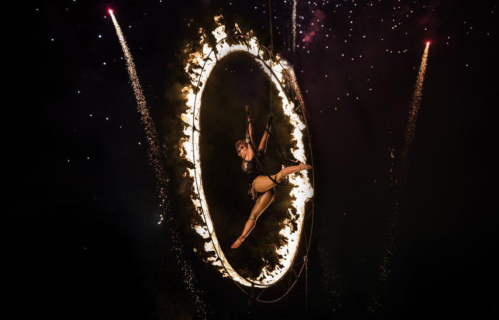 Shambala Festival fire spectacular