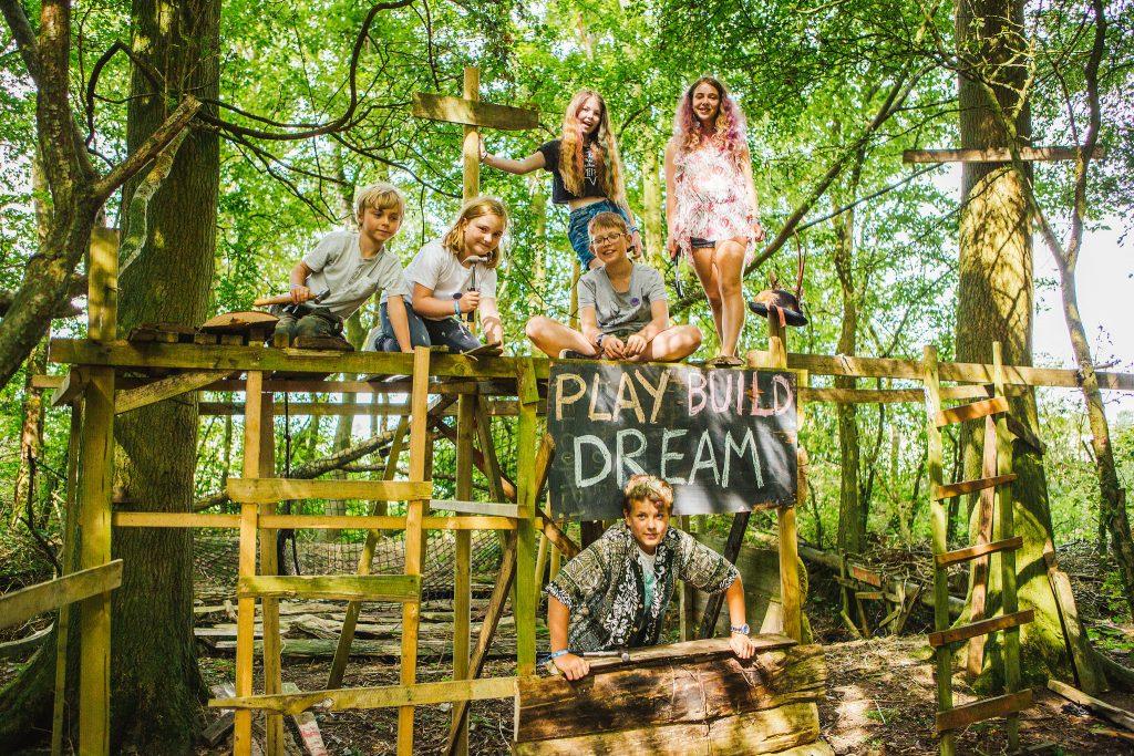 Shambala Festival woodland tribe