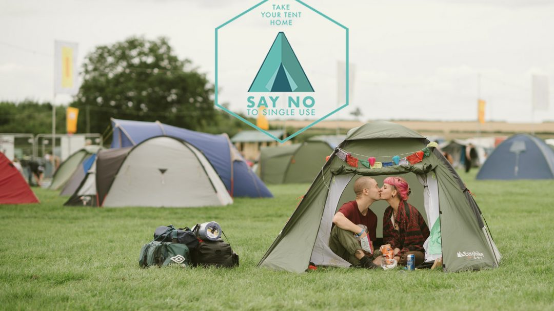 Independent Festivals launch 'Take Your Tent Home' campaign